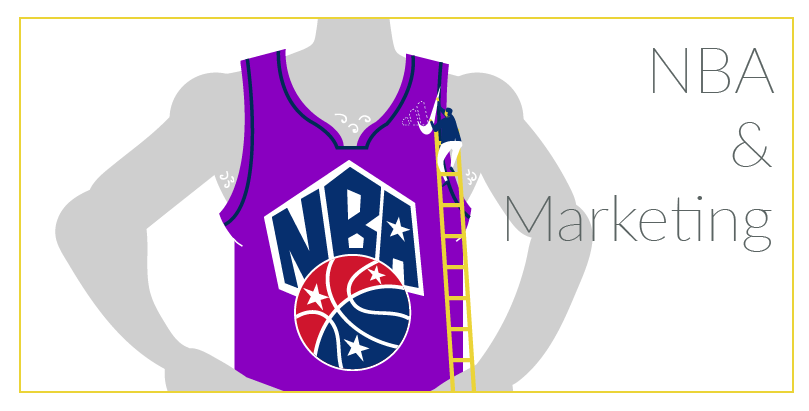 NBA DRESOVI I MARKETING: Oglašavanje na 6 cm², bez greške u koracima